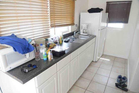Bohio Dive Resort: Kitchen area
