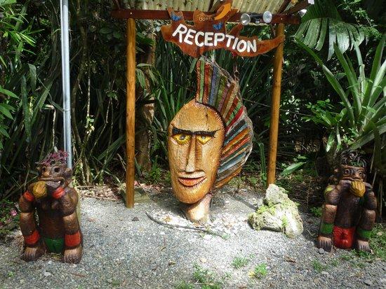 Congo Bongo Boutique Guest Houses: Congo Bongo entrance