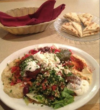 Mediterranean Grill: Another fine dish, perfectly prepared !