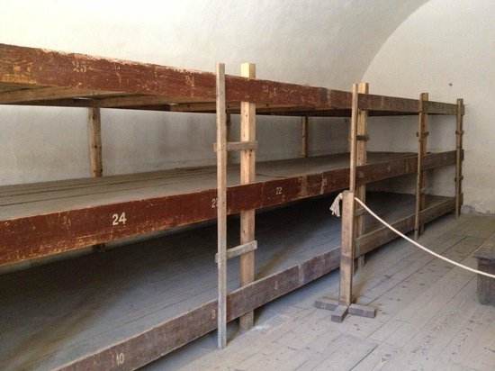 Wittmann Tours Bunk beds in one of the buildings at Terezn Lovely - Elegant best bunk beds For Your House