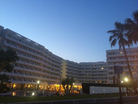 Olimarotel Gran Camp de Mar: Early evening..
