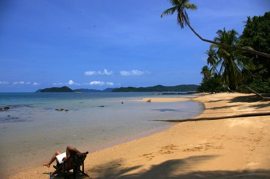Good Time Resort Koh Mak: Two beaches in walking distance