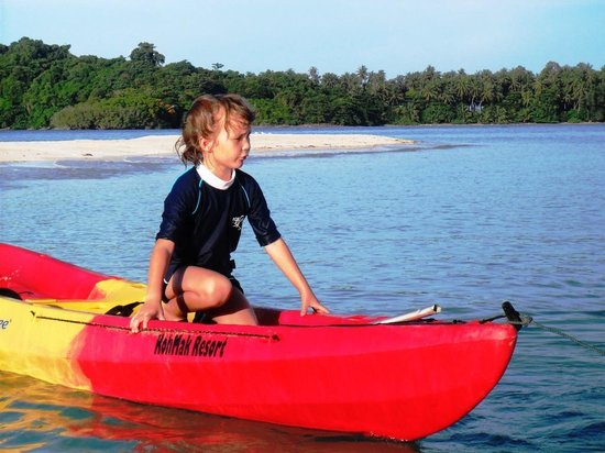 Good Time Resort Koh Mak: You can travel to other islands by kayak