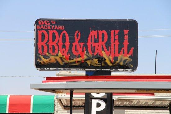 DC's Backyard BBQ: Sign