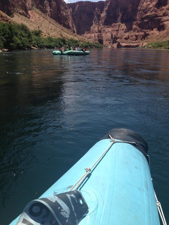 Colorado River Discovery: View from the raft