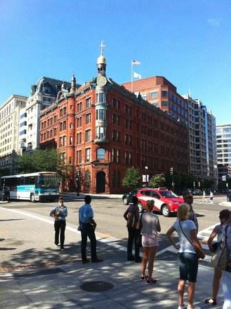 Club Quarters Hotel in Washington, D.C. : Great architecture nearby