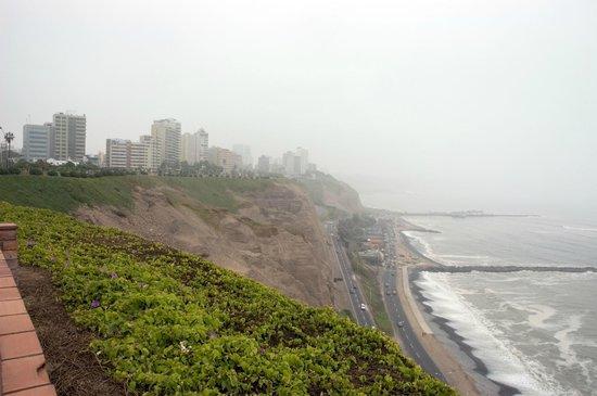 Malecón de Miraflores: vista do calçadão