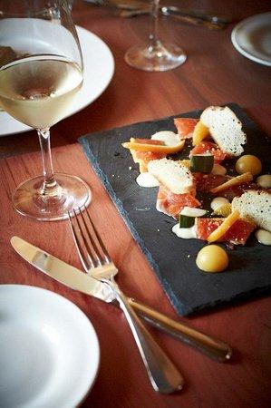 The Plough Inn: food & wine