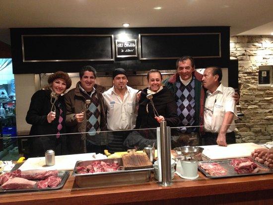 El Boliche de Alberto: Jantar maravilhoso