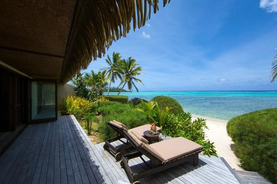 Te Manava Luxury Villas & Spa: Ultimate Beachfront Villa 1 Bedroom