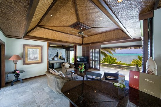 Te Manava Luxury Villas & Spa: Ultimate Beachfront Villa 3 Bedroom