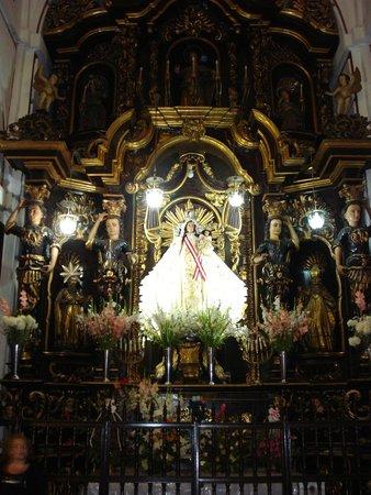 Iglesia y Convento de San Francisco : Interior