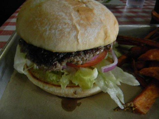Armadillo Willy's: $6 flat iron burger