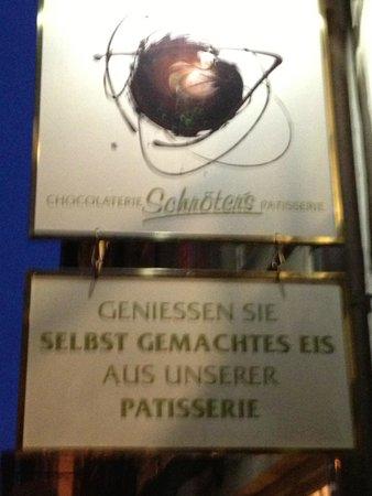 """Schroter""""s Leib und Seele: Signage"""