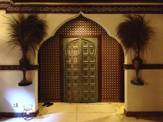 Prana Spa: Indian & Middle Eastern inspired architecture