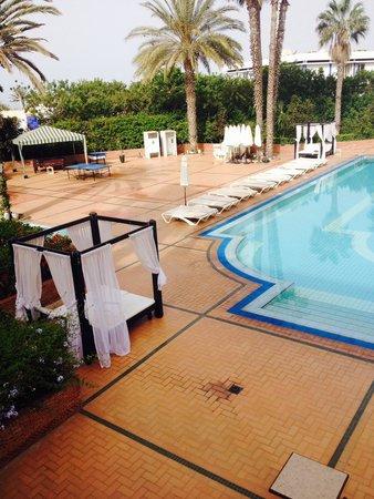 Argana Hotel: View from balcony awsum