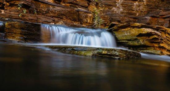 Karijini Eco Retreat : Waterfall