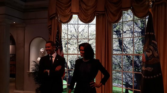 Madame Tussauds New York : Mr President