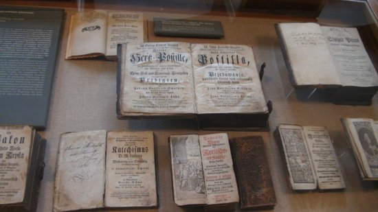 Sorbisches Museum: Old Books