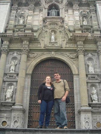 Cathedral of Lima: fachada