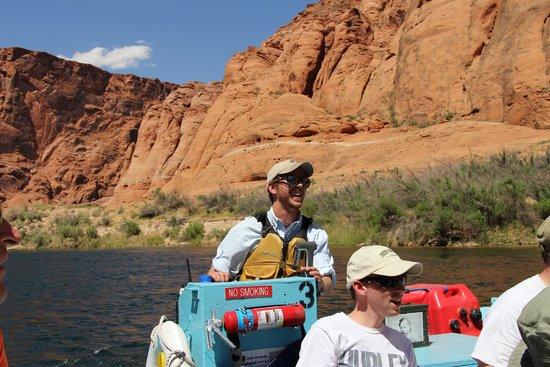 Colorado River Discovery: Guide Aaron
