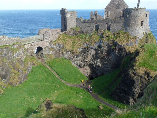 Hauntingly beautiful Dunluce Castle