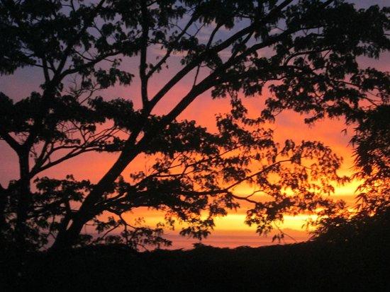 Casa MarBella: Sunset from yoga deck