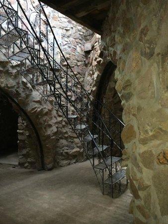 Bishop Castle: stairwork
