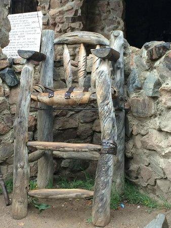 Bishop Castle: Captains chair