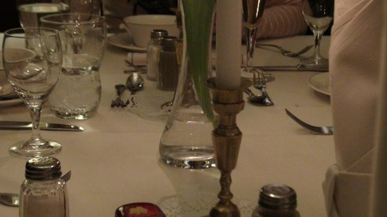 Kurfürstenschänke: Table