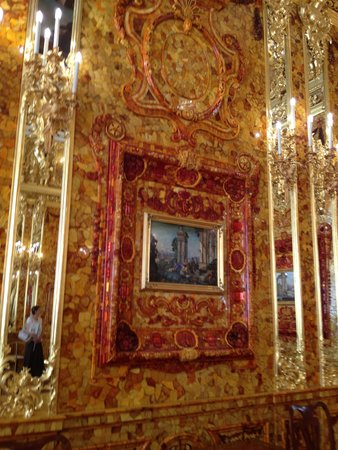 Catherine Palace and Park: The Amber Room