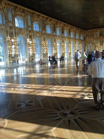 Catherine Palace and Park: The Grand Ballroom