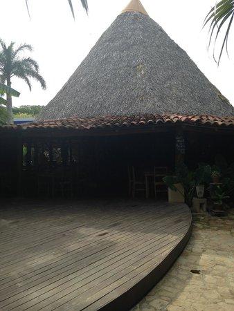 Hotel Pasatiempo: The Bar Area