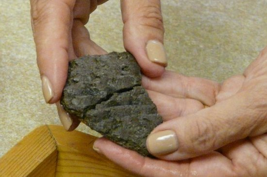 Crow Canyon Archaeological Center : Found matching pottery pieces while in lab.