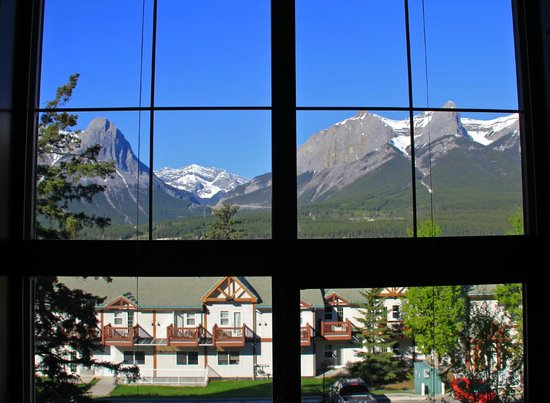 Silver Creek Lodge: View from the bed