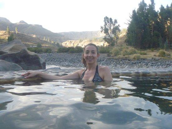 Colca Lodge Spa & Hot Springs - Hotel: Piscina con agua termal