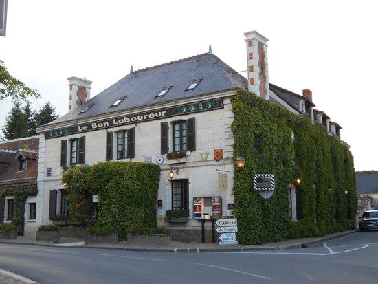 Auberge du Bon Laboureur: The main building