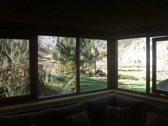 Colca Lodge Spa & Hot Springs - Hotel: Vista desde la habitación