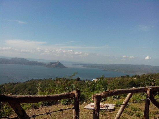 Talisay, Filippijnen: nice view along the road