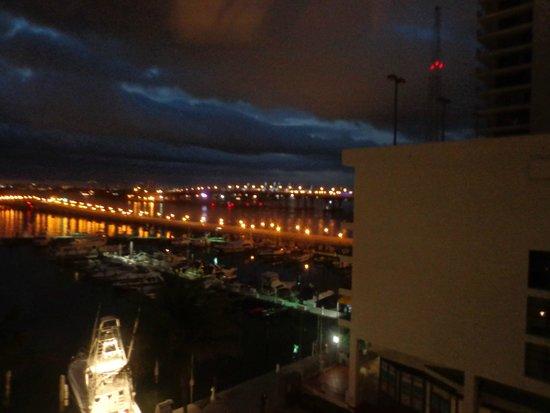 Miami Marriott Biscayne Bay: Vista noturna