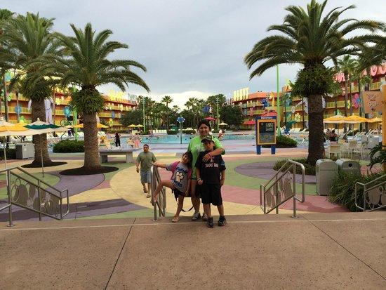 Disney's Pop Century Resort: Main pool