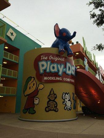 Disney's Pop Century Resort: playdoh