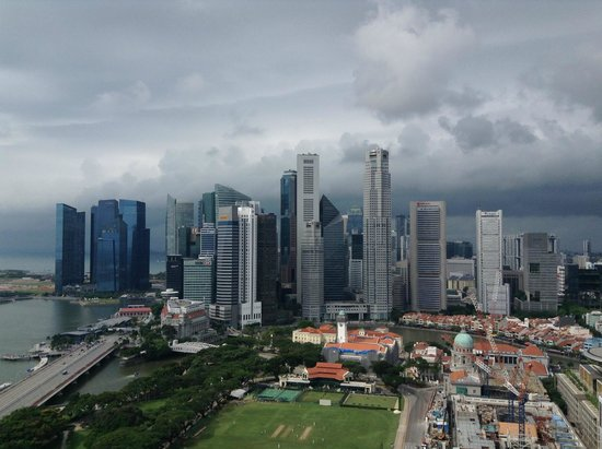Swissotel The Stamford Singapore: Veiw of Singapore city