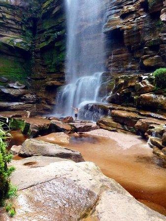 Mosquitos Waterfall: Cachoeira dos Mosquitos