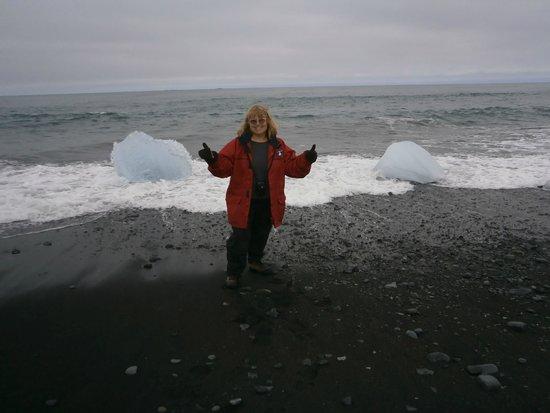 Jökulsárlón: Up close and personal ice