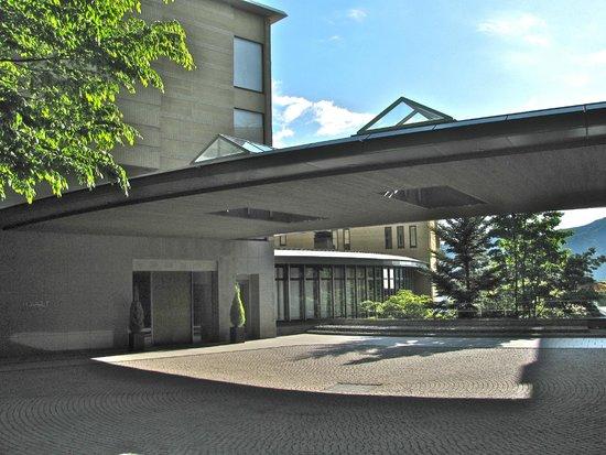 Hyatt Regency Hakone Resort and Spa: Front of hotel