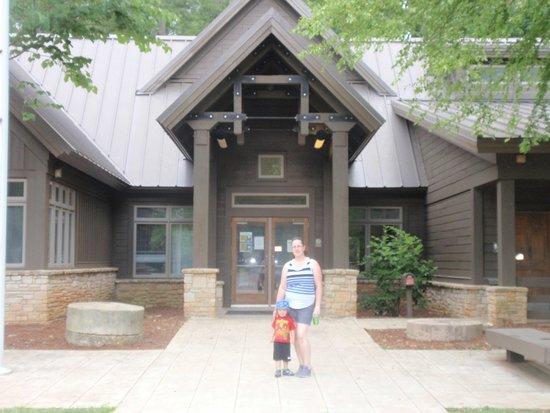Umstead State Park: visitor center
