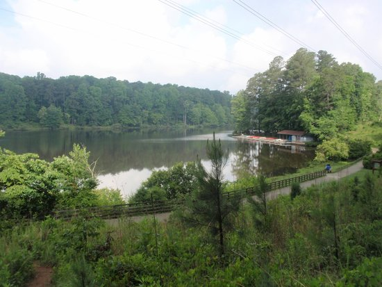 Umstead State Park: boat house