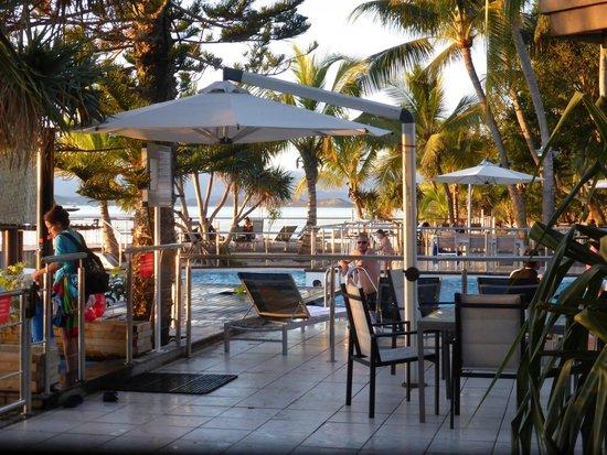 L'Escapade Island Resort: Pool Area
