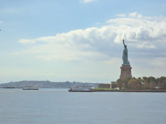 Statue de la liberté : Vista do Barco 2
